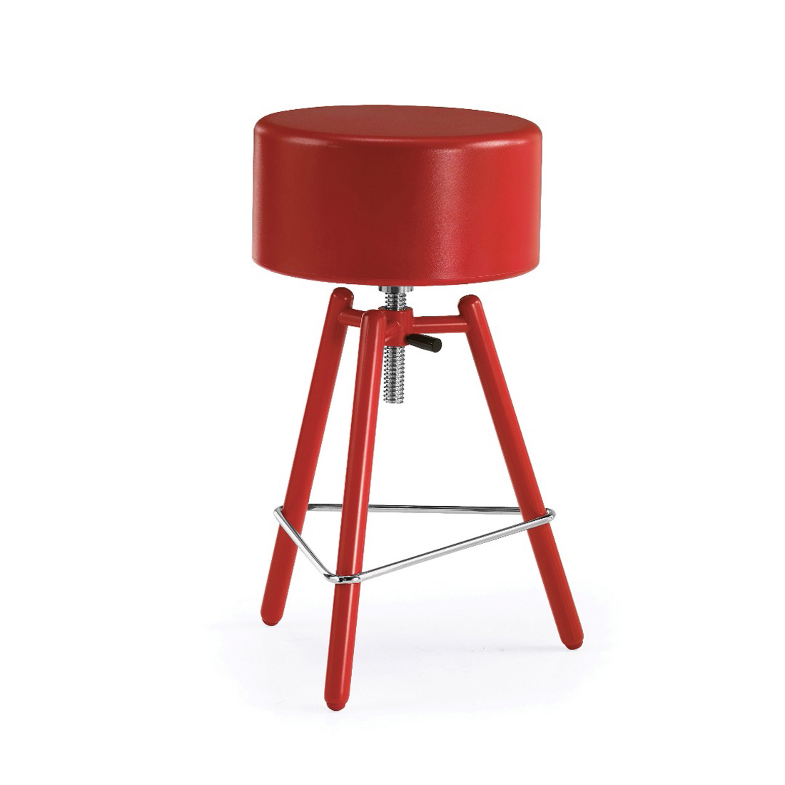 Blog Collection Adjustable-Height Stool