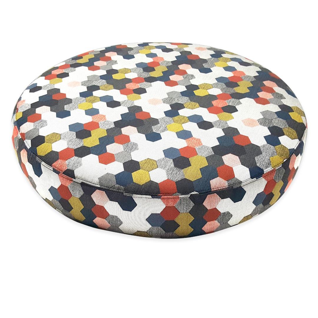 Fabulous Round Pillow Frankydiablos Diy Chair Ideas Frankydiabloscom