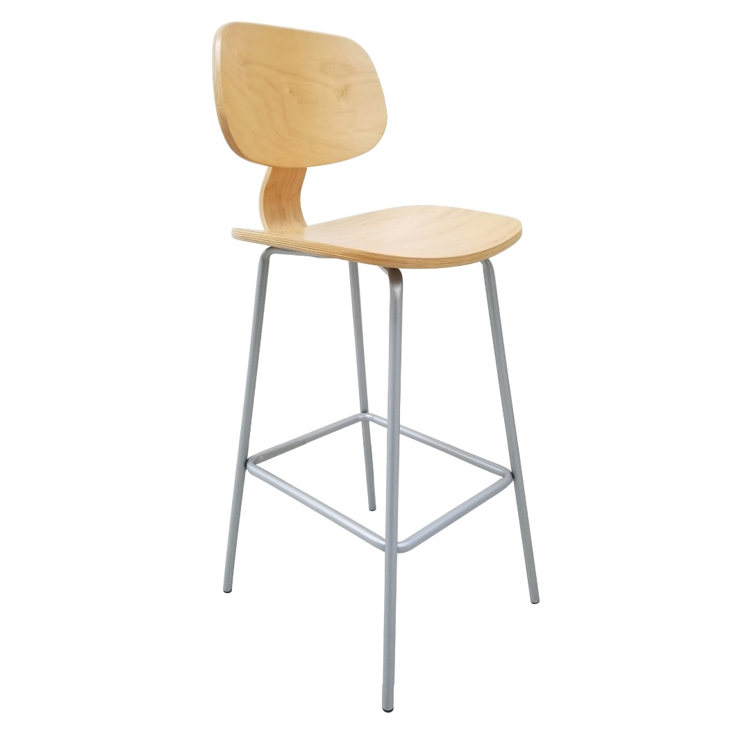 Bent Plywood Barstool