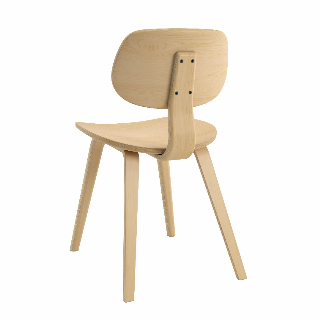 Bent Plywood Side Chair