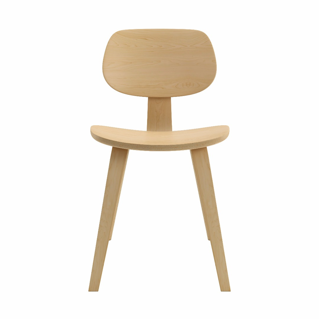 Ordinaire Bent Plywood Side Chair