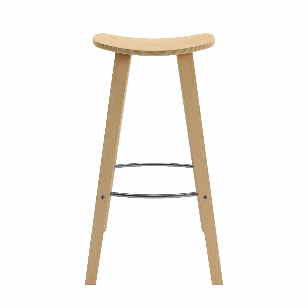 Bent Plywood Chair - Bent plywood barstool