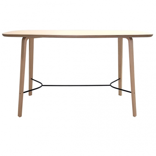 Bent Plywood Community Table