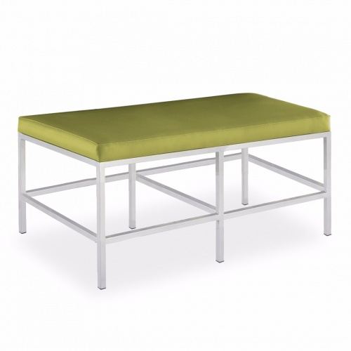 Metal Bench/Dining HT