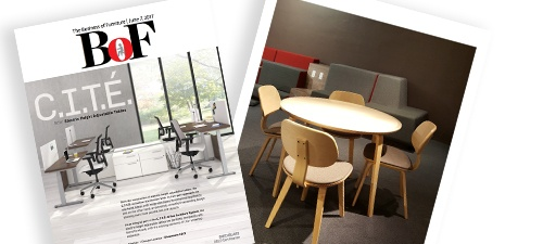 See the New Legacy Collection in the Business of Furniture Magazine