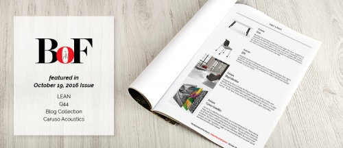 Thonet featured in October Issue of The Business of Furniture Magazine