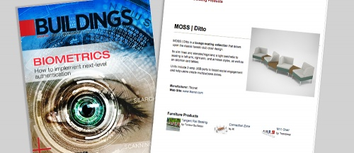 MOSS | Ditto featured in Buildings Magazine