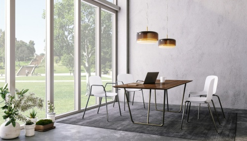 Forth Table w/ Falcon Insetto Seating