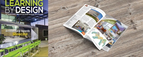 Thonet makes a splash in the Spring 2019 edition of Learning by Design Magazine