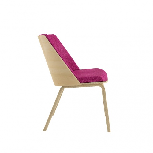 Loungechair Armless Side Fuchsia 030718