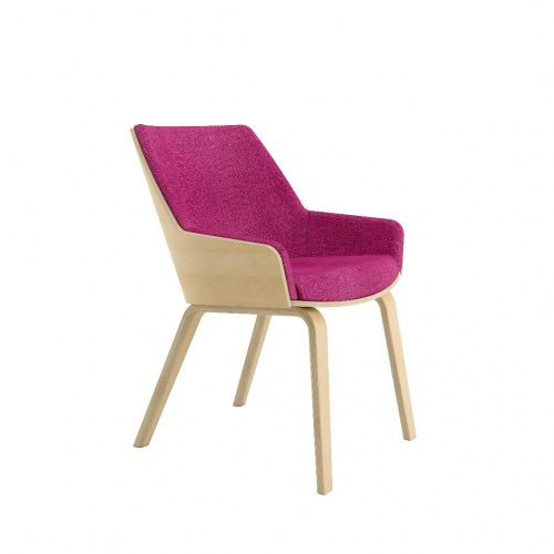 Loungechair Mb Frontangle Fuchsia 030218