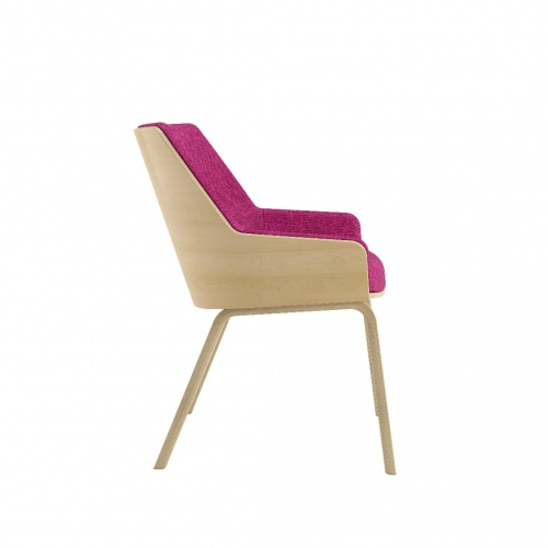 Loungechair Mb Side Fuchsia 030218
