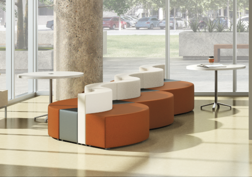 MOSS | 3 Awarded Spot in Top 10 for Modular Seating Solutions