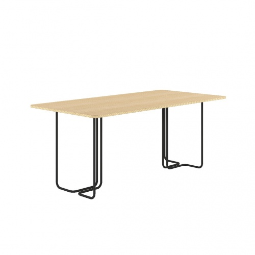 Standing Hieght Table Black Frontangle 032918