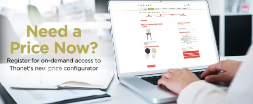 Check Out Thonet's New Price Configurator